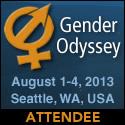 gender odyssey attendee badge